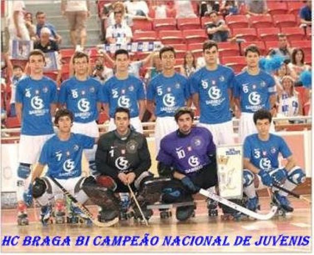 HC Braga bicampeão nacional de juvenis