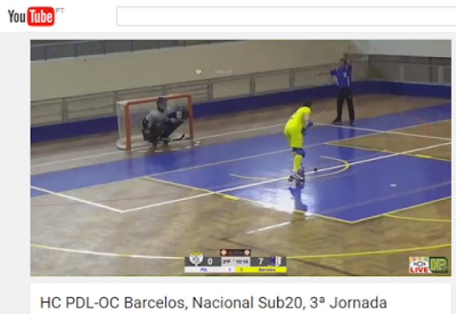 Nacional de Juniores - HC Braga e OC Barcelos vencem