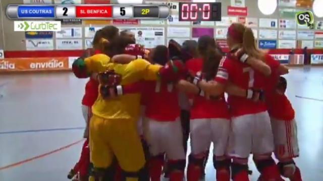 Benfica: chegar, ver e vencer no Hóquei em Patins Feminino!
