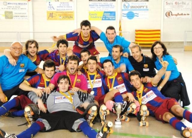 Noia e Barcelona, campeões na Catalunha