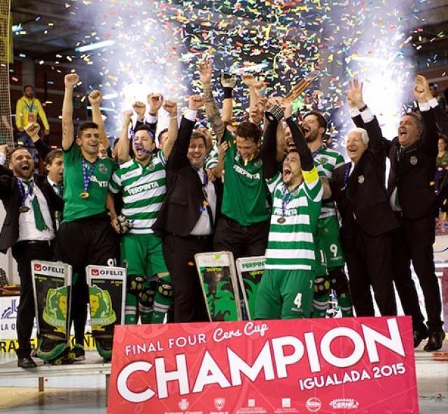 Sporting vence Taça CERS!