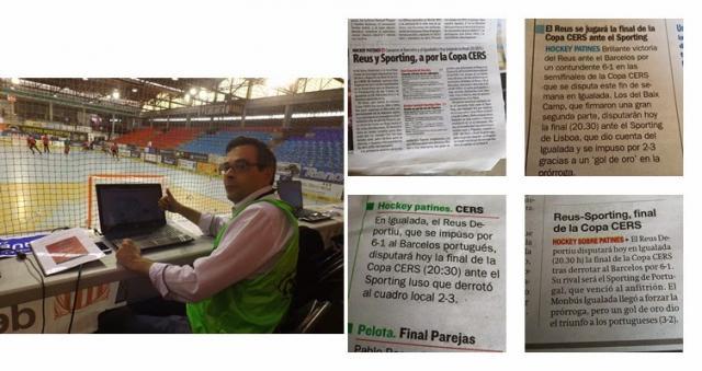 Taça Cers - Vejam a forma como a imprensa escrita espanhola tratou a competição. Medíocre!!! E a portuguesa?