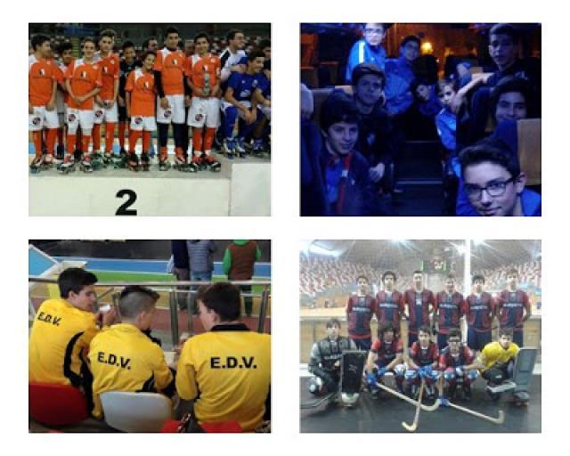 Eixo Atlantico - ADB Campo fica em 2º, HC Braga 3º, ED Viana 5º e Cartaipense em 9º.