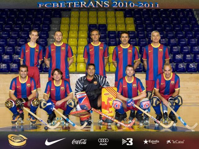 Barcelona campeão... em veteranos