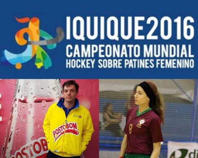 Mundial Feminino - Sofia Silva e André Torres nos quartos de final