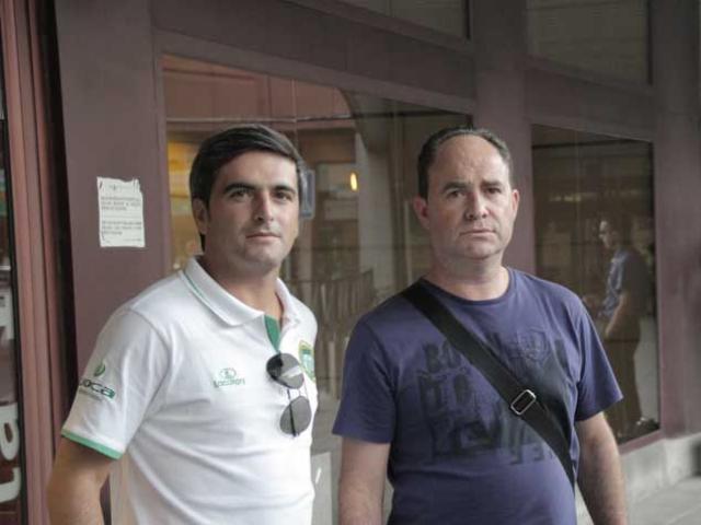 Joaquim Pinto e José Monteiro na final do Mundial 2011