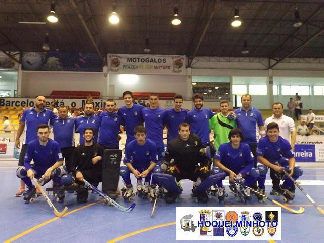 OC Barcelos é campeão nacional de juniores