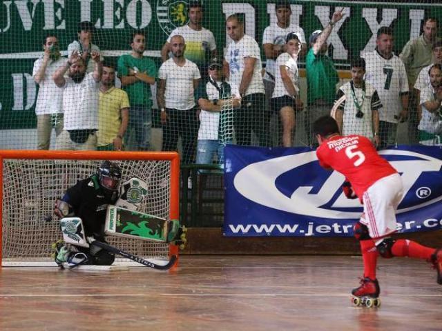 Sporting bate Benfica e conquista Supertaça de Hóquei em Patins