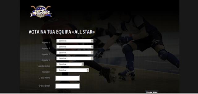 """""""All-Star Game Hóquei em Patins 2013"""" já tem site oficial"""