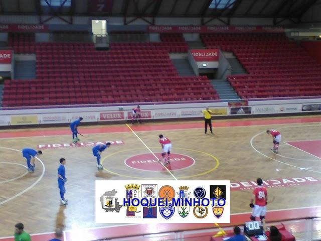 Nacional de Juniores - OC Barcelos empata na Luz.
