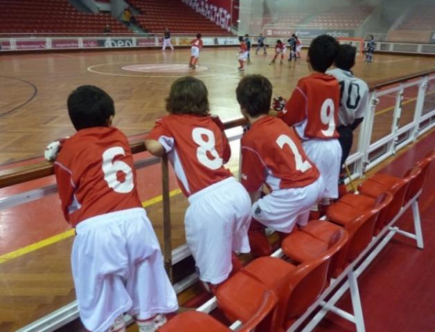 Benfica invicto nos Juvenis